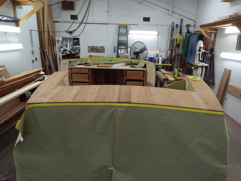 Rear deck fit on the love seat.
