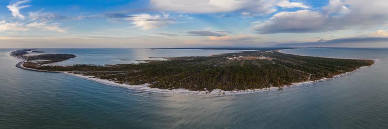 Cape San Blas from the Gulf