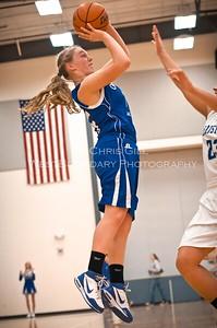 Lady Vikings Basketball @ MV Christian HS Hurricanes