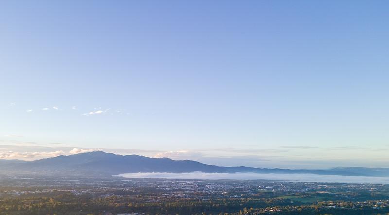 Aerial View of San Jose and the Juan Santamaria Airport