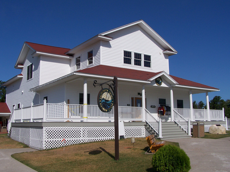 Great Lakes Shipwreck Museum, which has many shipwreck artifacts, including artifacts from shipwrecks in the Whitefish Point Underwater Preserve and the SS Edmund Fitzgerald's bell which was recovered from the wreck in 1995.