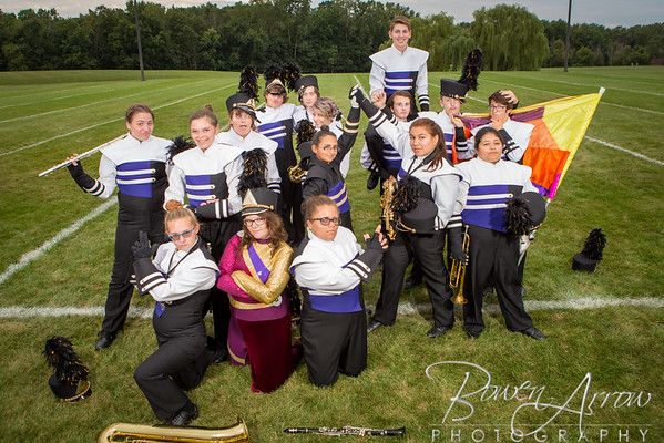 2016 Marching Band Portraits