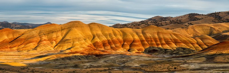Painted Hills at Sunset