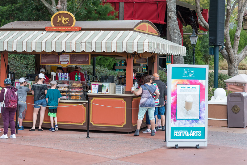 More Joffrey's Specialty Beverages - Epcot International Festival of the Arts 2017
