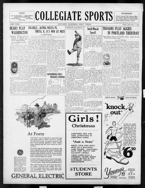 Daily Trojan, Vol. 18, No. 37, November 05, 1926