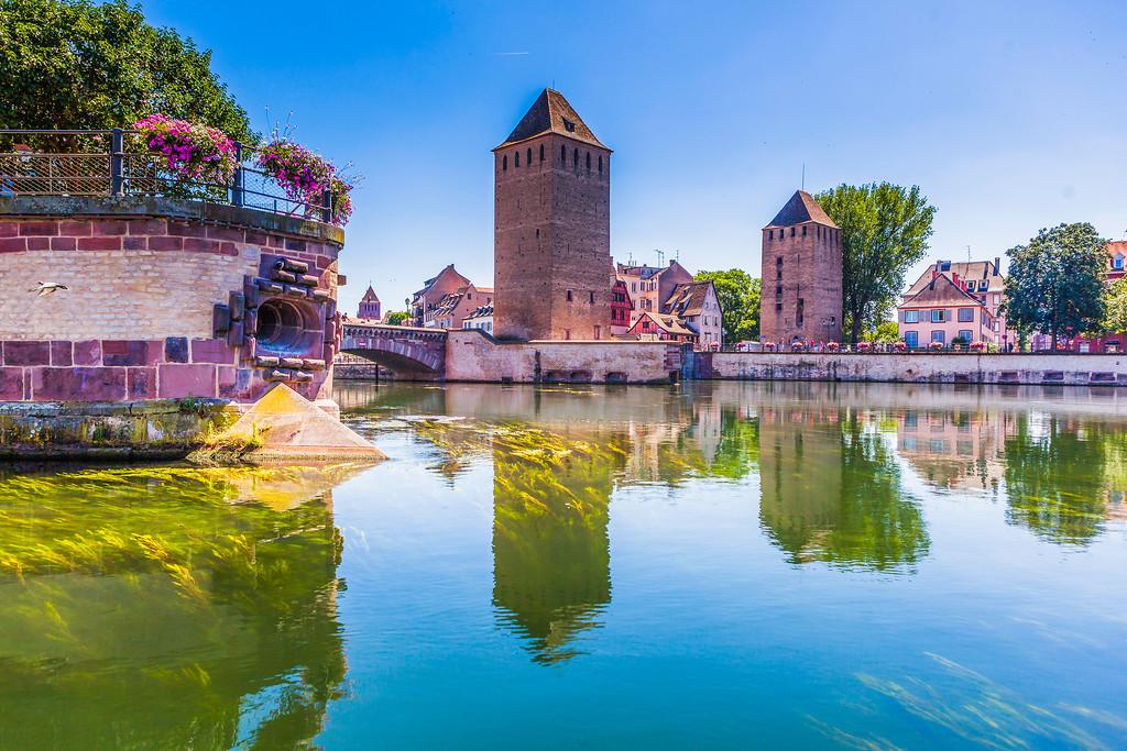 法国斯特拉斯堡(Strasbourg),老城老建筑