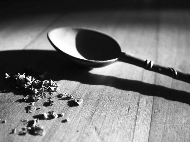 spices and spoon