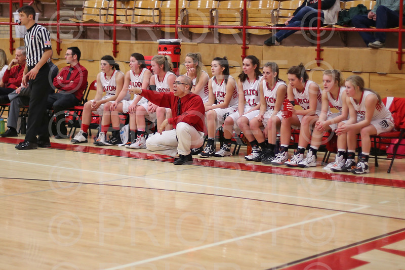 2/17/15 Eaton Varsity Girls Basketball vs University