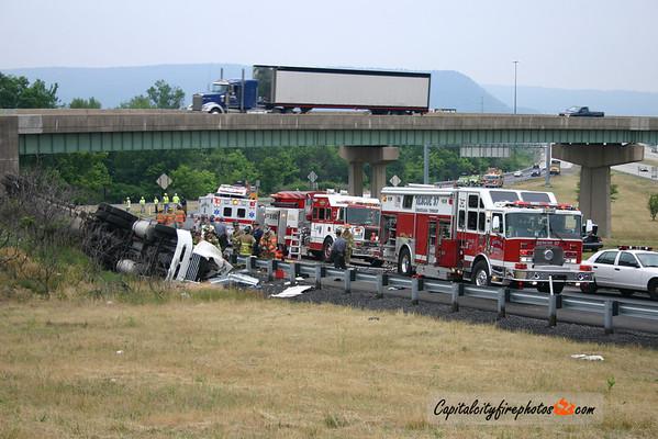 6/25/07 - Susquehanna Township - I-81 & Route 322