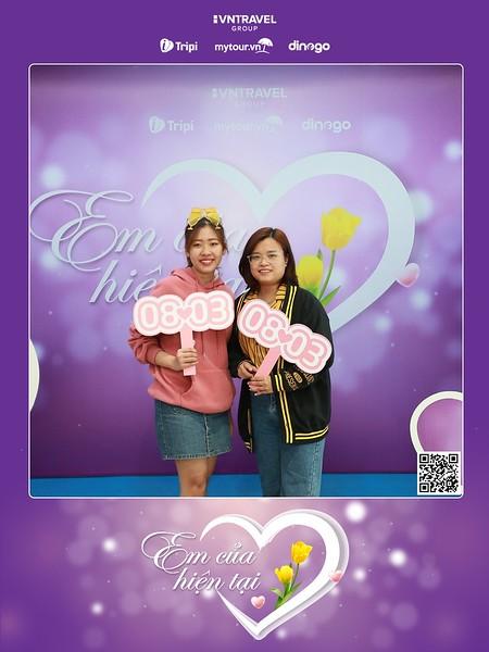 VNTravel Hanoi   Women's Day instant print photo booth   Chụp ảnh in hình lấy ngay Quốc tế Phụ Nữ 8/3   Photobooth Hanoi