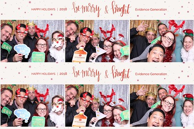 Genentech Evidence Holiday Party 2018