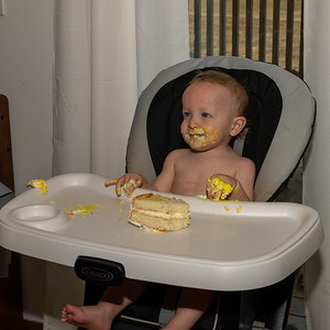 Cade's 1st birthday