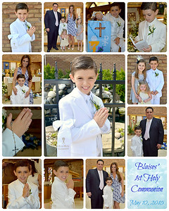 Blaise's Communion 2015
