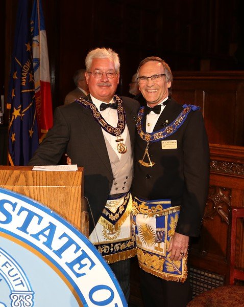 Grand Lodge of Indiana Installation of Officers 05-18-2016