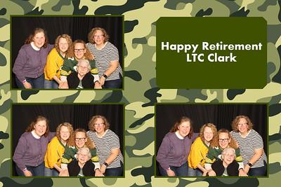 LTC Clark Retirement Party