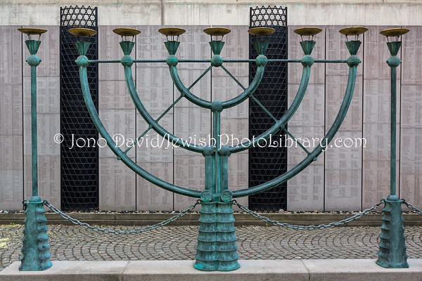 SWEDEN, Stockholm. Holocaust Memorial and Raoul Wallenberg Memorial (at the Great Synagogue) (5.2018)