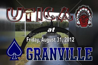 2012 Utica at Granville VARSITY (08-31-12)