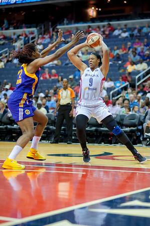 (camera p ) WNBA LA Sparks vs. Washington Mystics  6/1/14