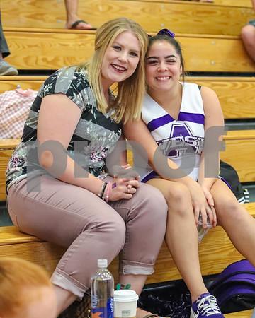 Varsity & JV Poms at Gym
