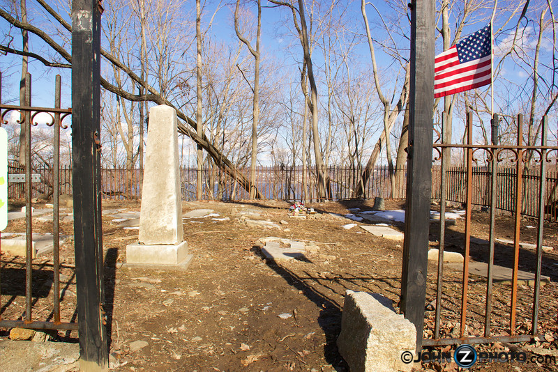 The Wells Family burial ground