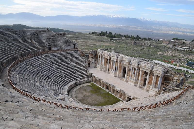 Hierapolis Theatre Pamukkale Turkey