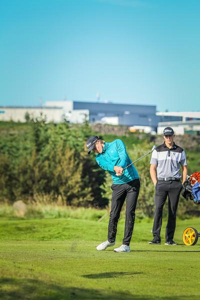 GK, Bjarki Snær Halldórsson Íslandsmót í golfi 2019 - Grafarholt 2. keppnisdagur Mynd: seth@golf.is