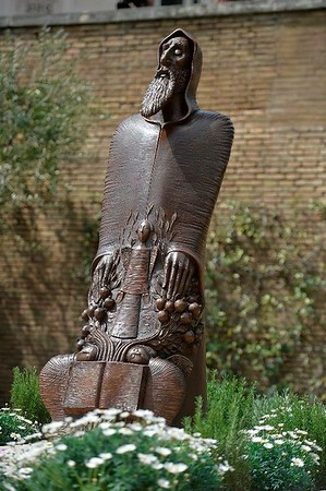 Unveiling of Gregory of Narek Statue, Rome, April 5, 2018