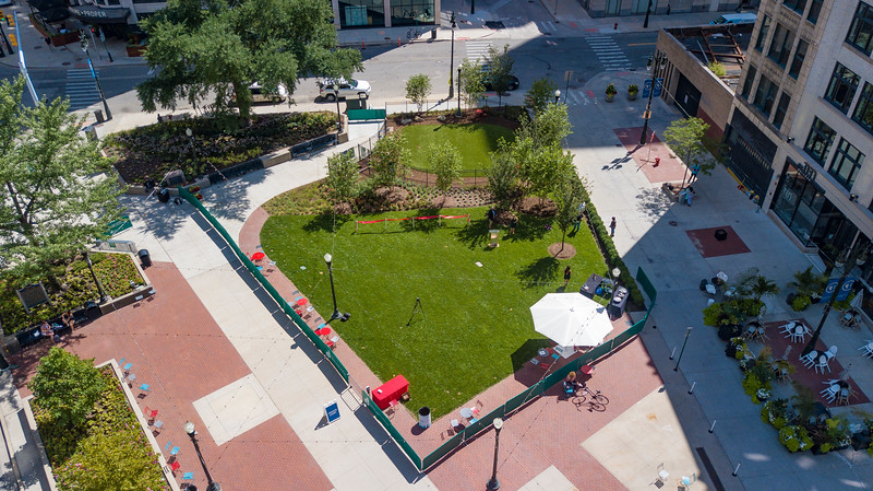 Capitol Park Dog Park Opening Dedication