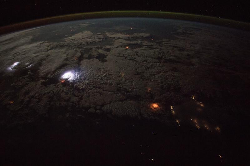 Fires and lightning, Australia