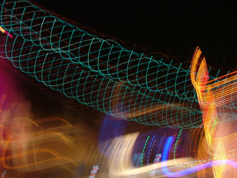Lights at Pleasure Island