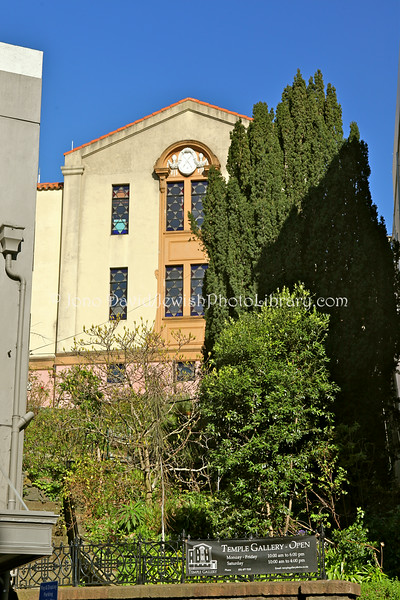 NEW ZEALAND, Dunedin. Temple Gallery (world's southern-most synagogue; currently a private art gallery and residence). (8.2010)