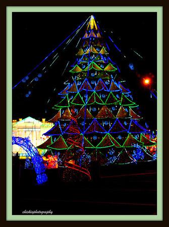 Holiday Lights around the world