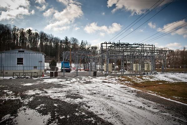 Progress- Winner Substation-Stoney Creek 02-19-10