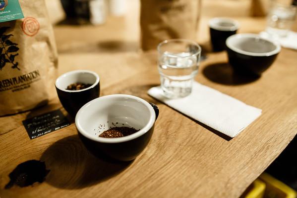 Bitcoin Coffee cupping