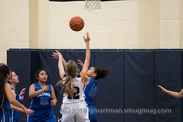 2019 Girls JV2 Basketball vs. Hillsboro