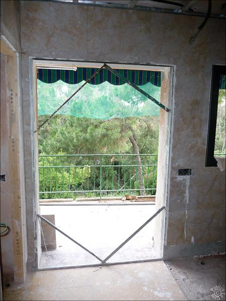 Ancienne/nouvelle porte fenêtre