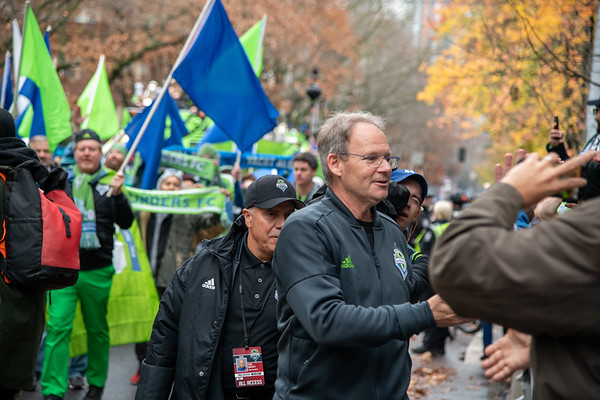 Seattle Sounders Victory Parade 2019