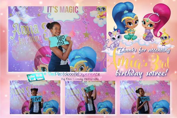 Amia's 3rd birthday