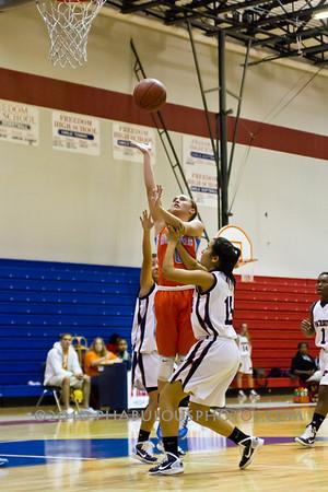 Boone @ Freedom High School Girls Varsity Basketball - 2010