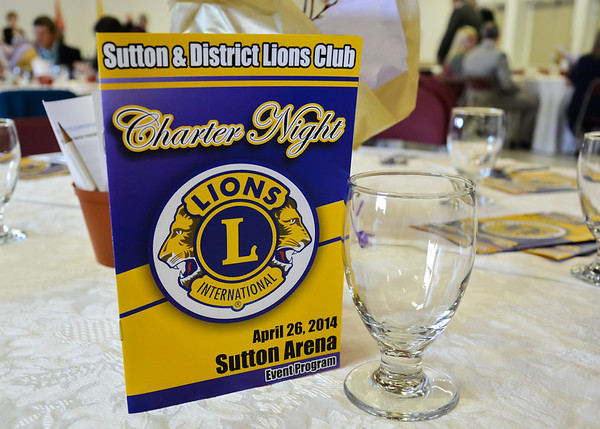 Lions Club - Sutton & District Lions Club - Charter Night