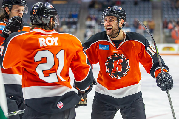 1/12/19 Komets vs. Grizzlies