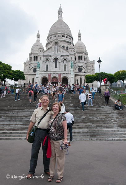Doug & Louise at Sacre-Coeur