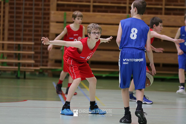 2017-02-04 U14 vs. Bavi Wondelgem