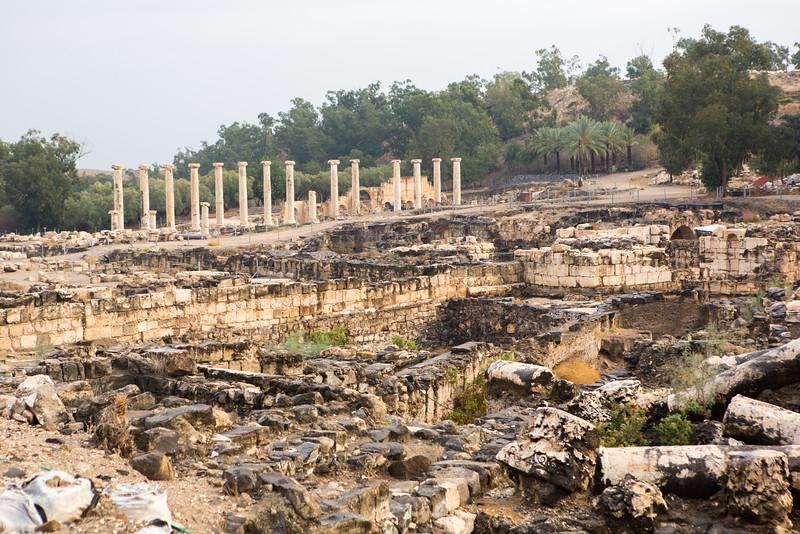 Ruins of Beth Shean
