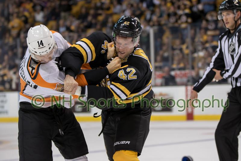Boston Bruins v Philadelphia Flyers 10-08