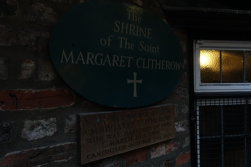 The Shrine of The Saint Margaret Clitherow