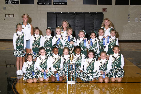 1st Place 3rd Grade Cheer-off Champions
