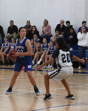WMS Grades 7-9 Girls Basketball - February 13, 2020