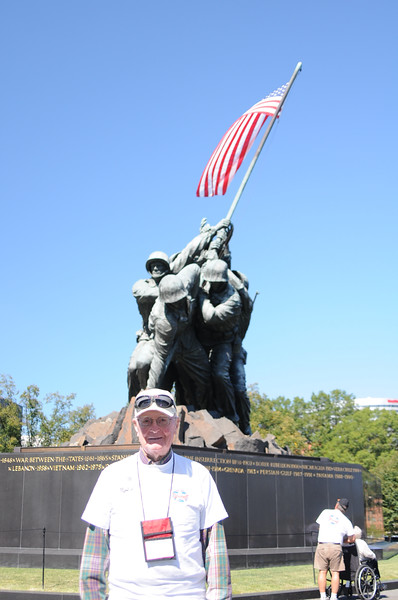 6.  IWO JIMA MEMORIAL by Ron Buteau