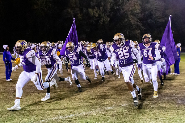 Broughton football vs Millbrook. Senior night. November 8, 2019. D4S_7371